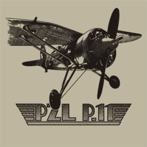 Koszulka myśliwiec PZL P11